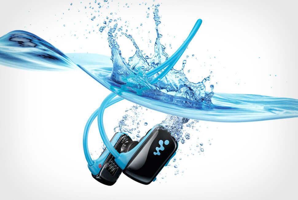 Walkman действительно абсолютно водонепроницаем