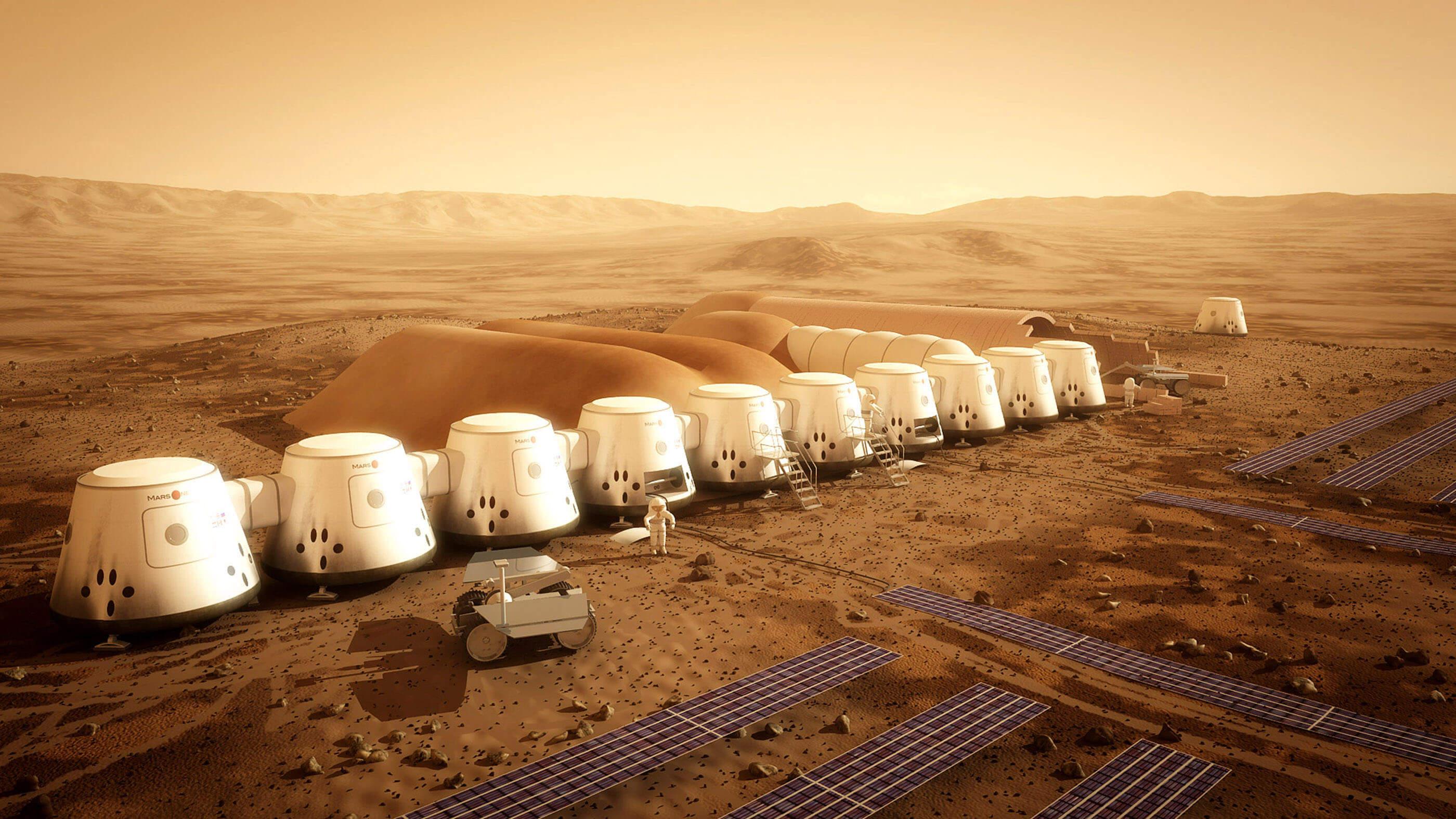 Чем будут кормить колонизаторов Марса (4 фото)