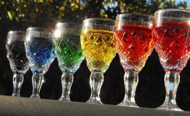 Разноцветные жидкости