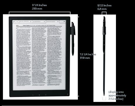 Sony Digital Paper - 3