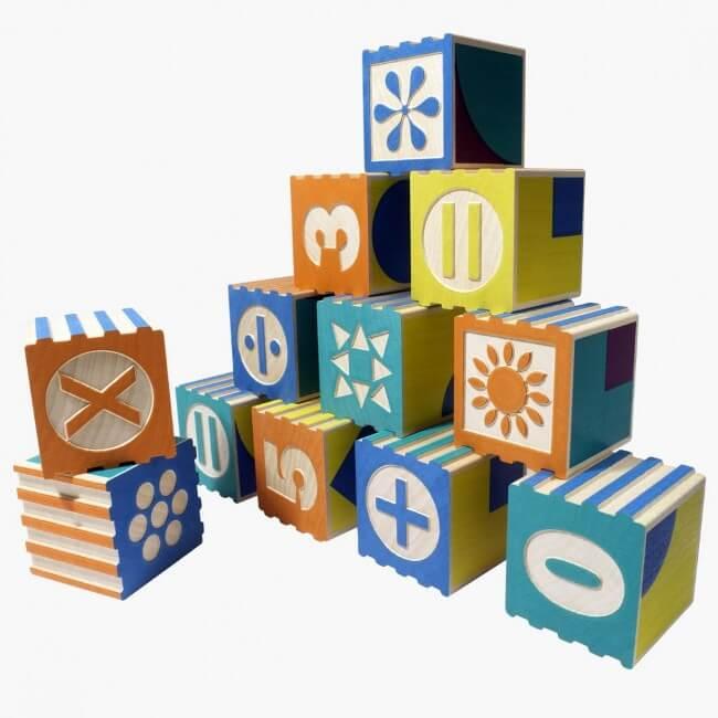 Кубики для юных математиков