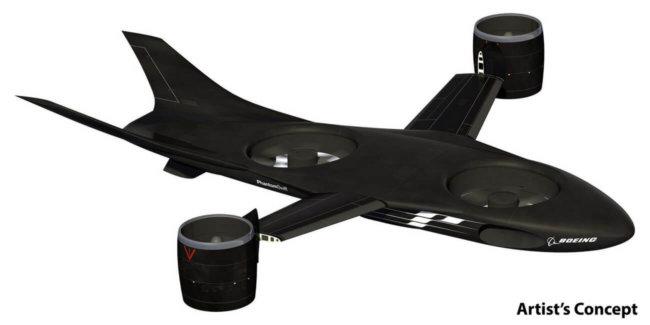 Концепт аппарата от Boeing VTOL X-Plane