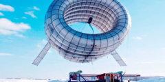 Летающий ветрогенератор Buoyant Airborne Turbine