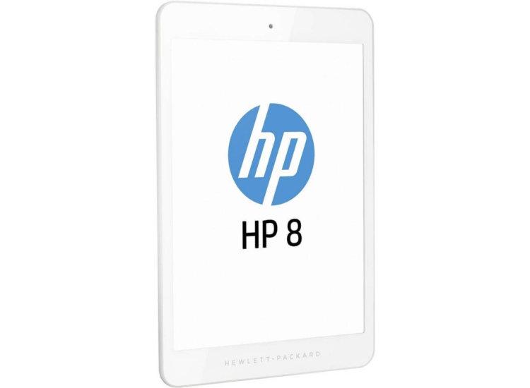Новый планшет HP 8 1401. Вид спереди
