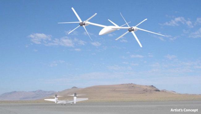Концепт аппарата Karem VTOL X-Plane