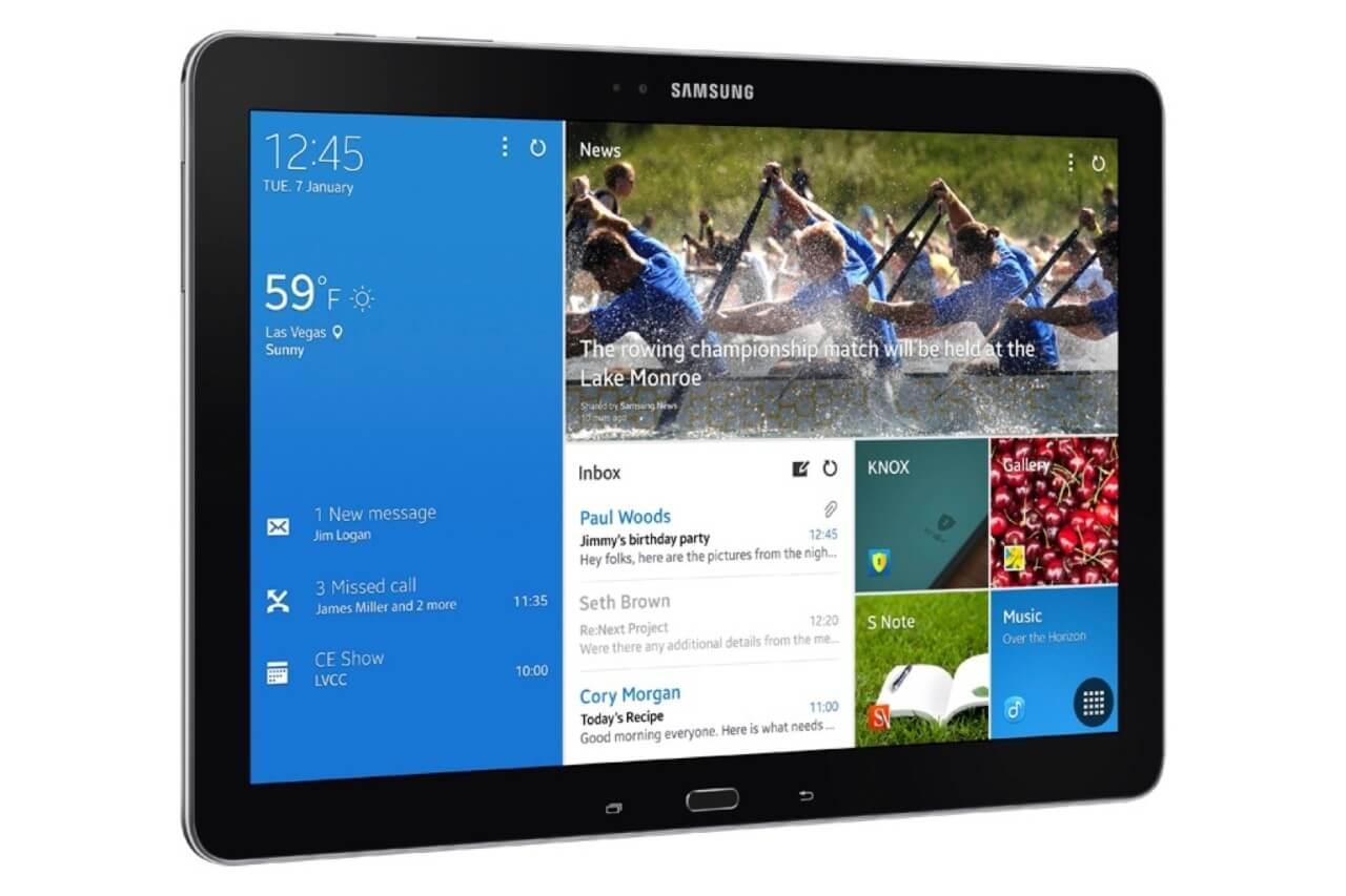 Samsung готовит новые планшеты