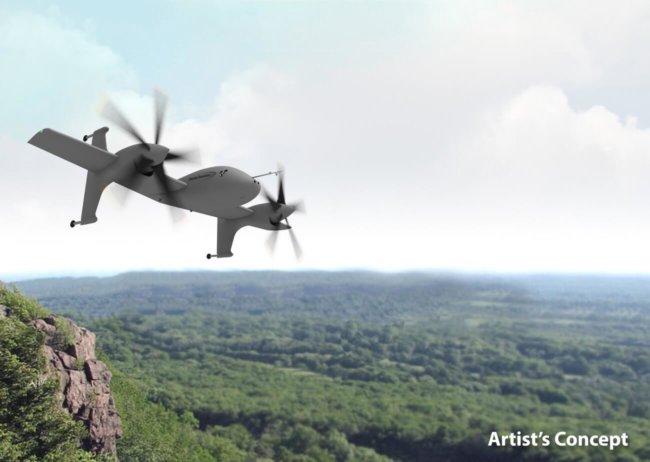 Концепт аппарата от Sikorsky VTOL X-Plane