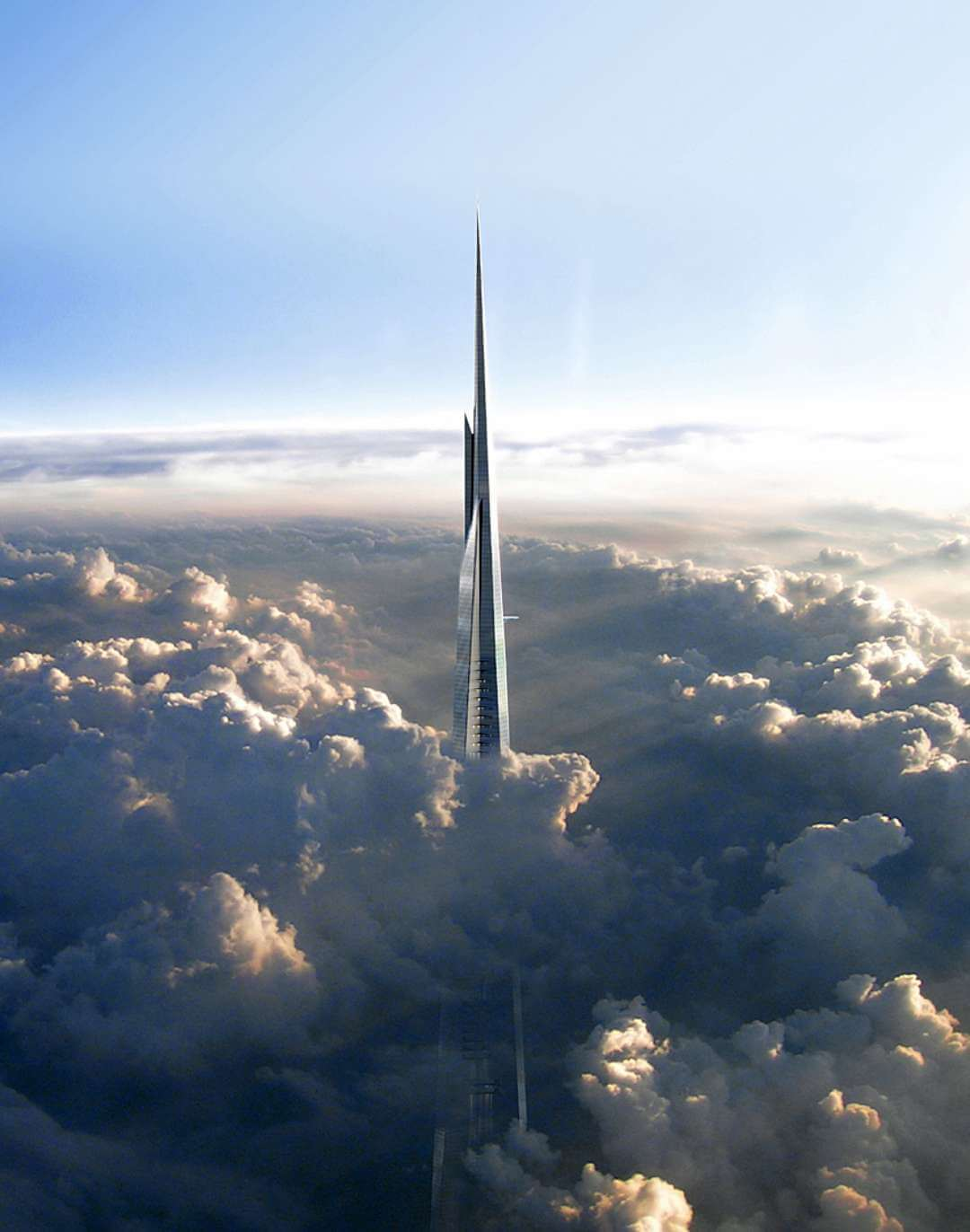 Концепт-арт Kingdom Tower