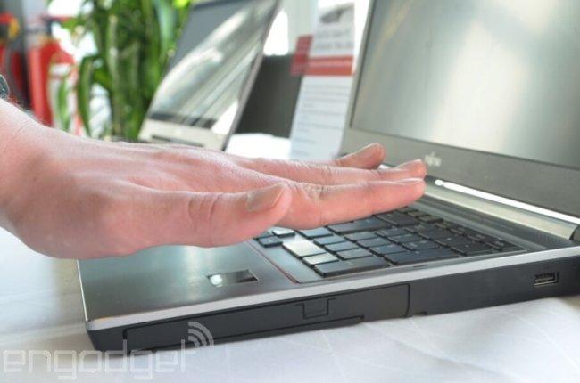 Fujitsu представила сканер ладони