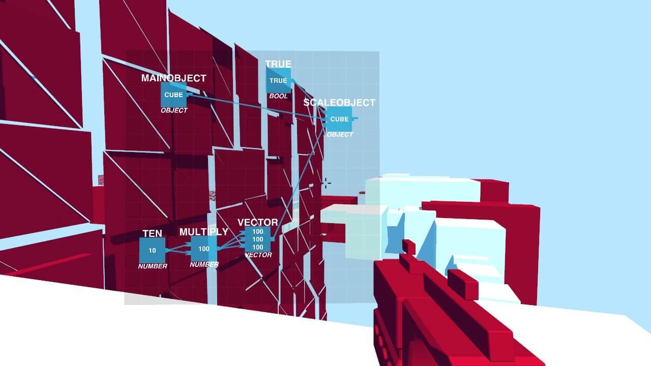 Скриншот из игры Glitchspace