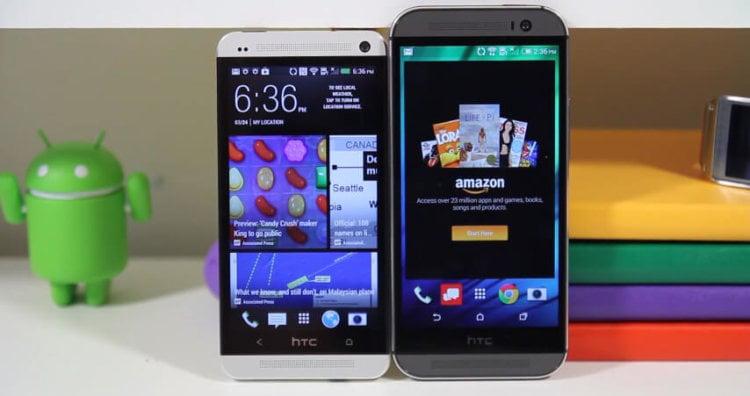 HTC One (M8) против HTC One (M7)