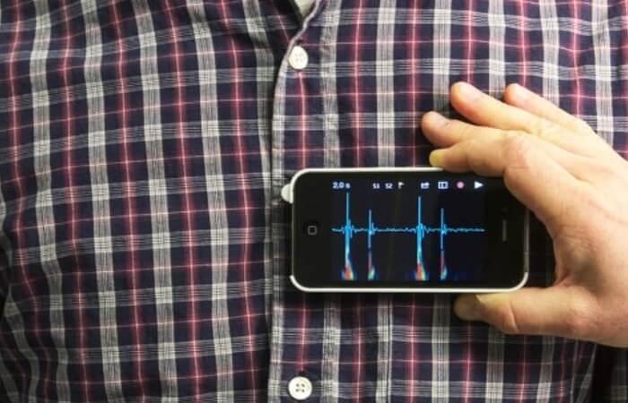 Стетоскоп из iPhone за несколько секунд