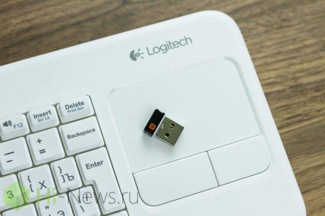 Обзор Logitech Keyboard k400r — клавиатура с тачпадом