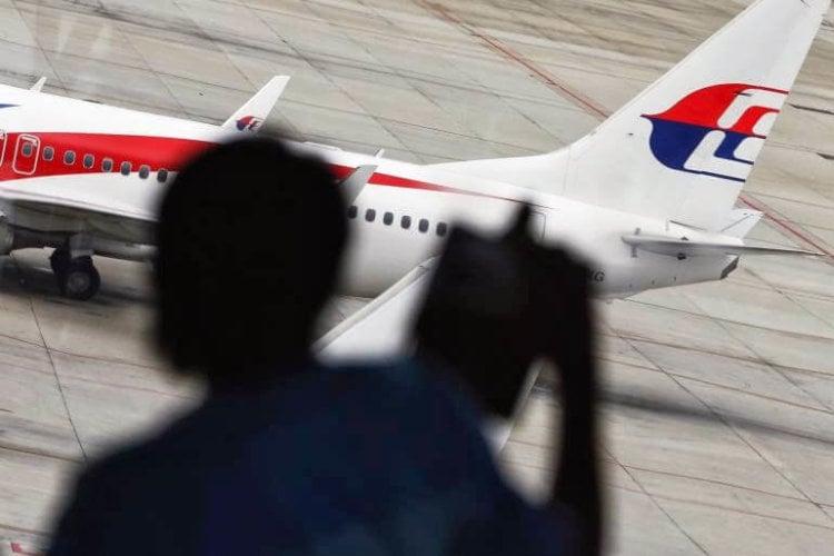 Boeing 777 авиакомпании Malaysia Airlines