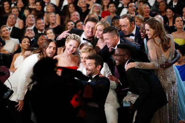 На церемонии вручения «Оскара»