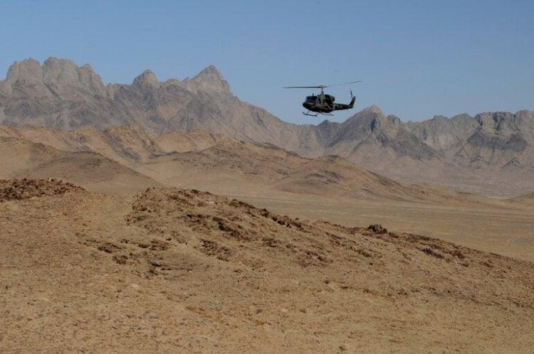 Вертолет в Афганистане