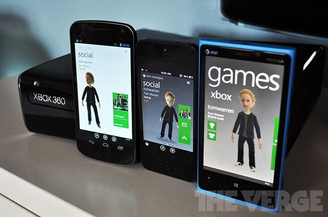 Xbox Live придёт на смартфоны