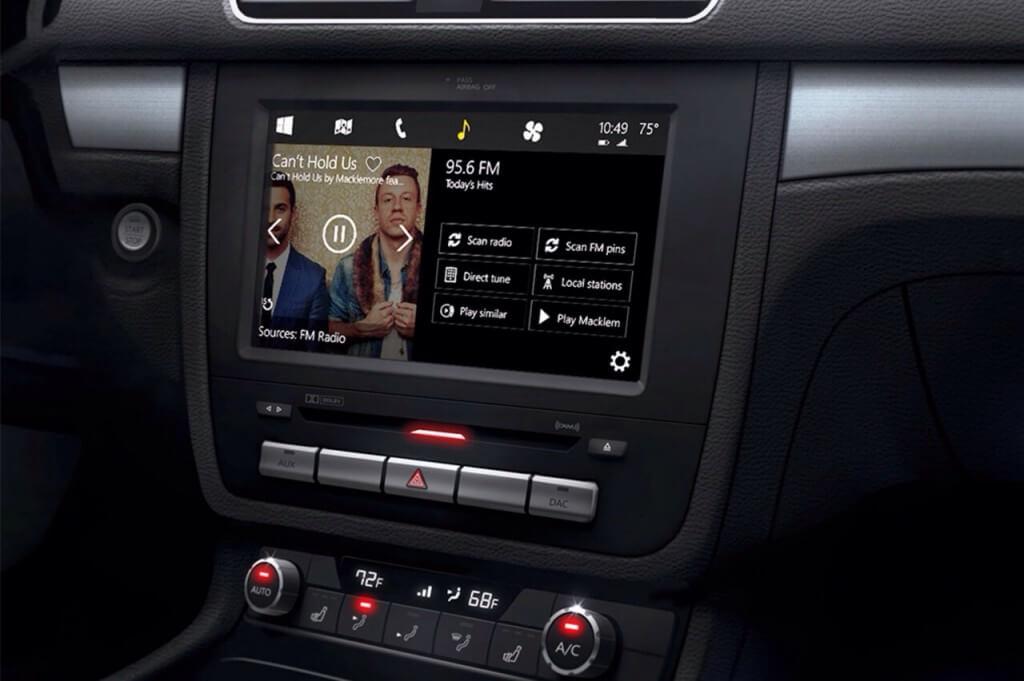 Windows в автомобиле