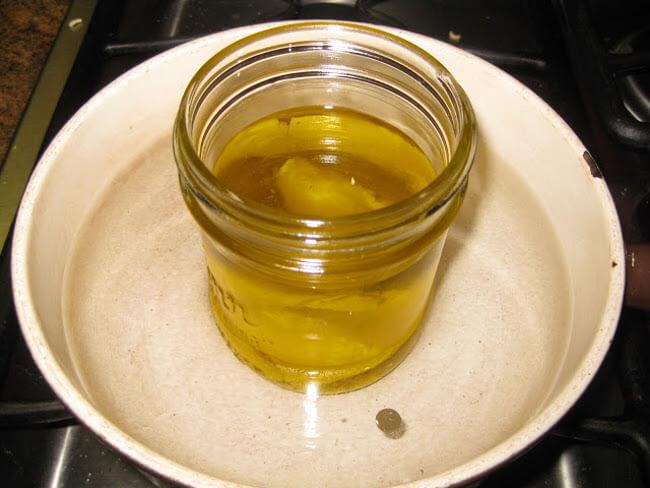 Масло для кожи из воска