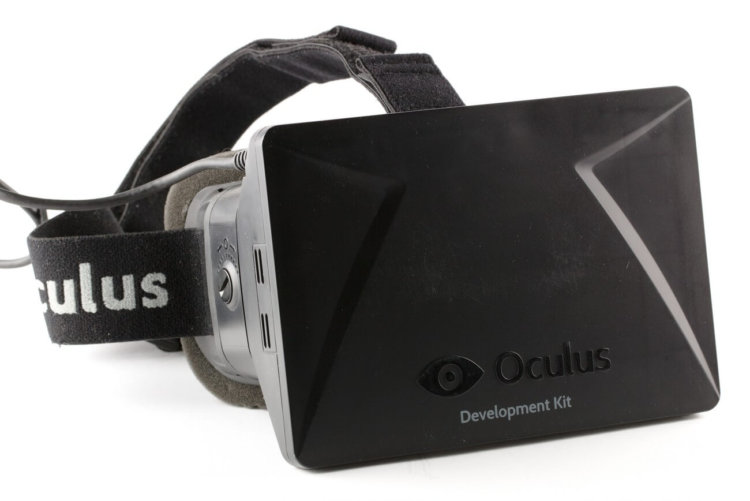 Управление дроном при помощи Oculus Rift