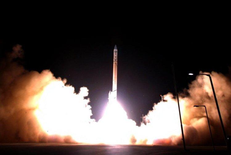 Ракета-носитель со спутником Ofek 10