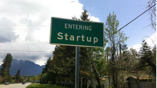 Территория стартап-компаний