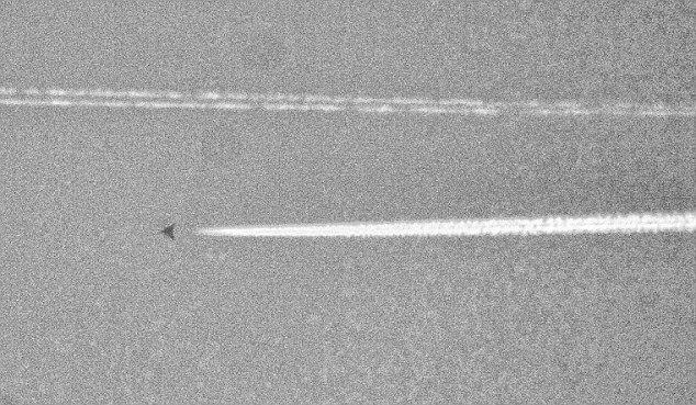 Летающий объект над Техасом