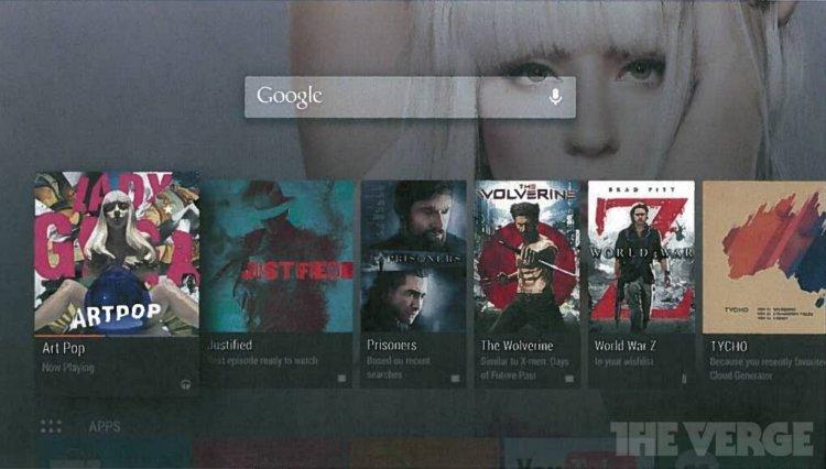 Скриншот Android TV