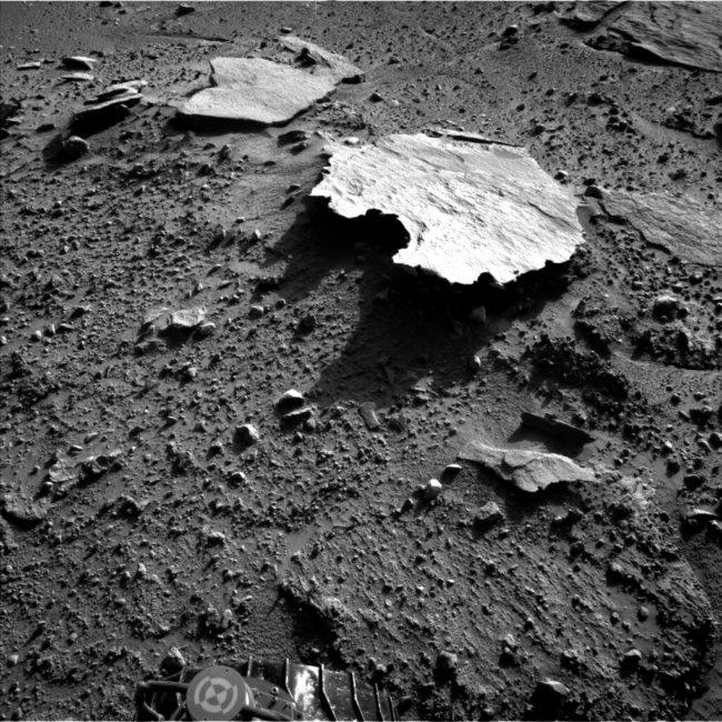 Марсианский камень в форме Австралии
