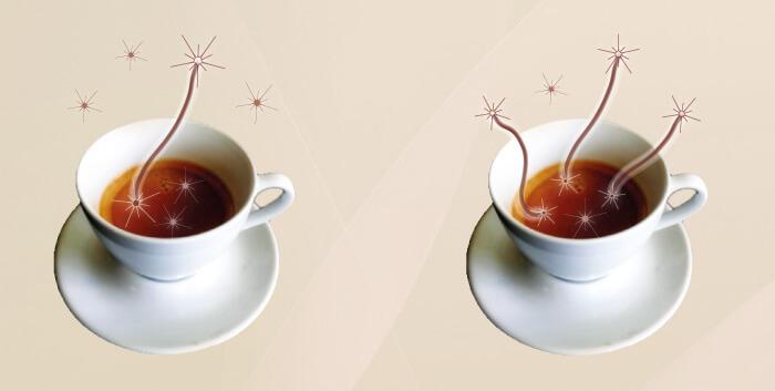Квантовая запутанность в чашке кофе