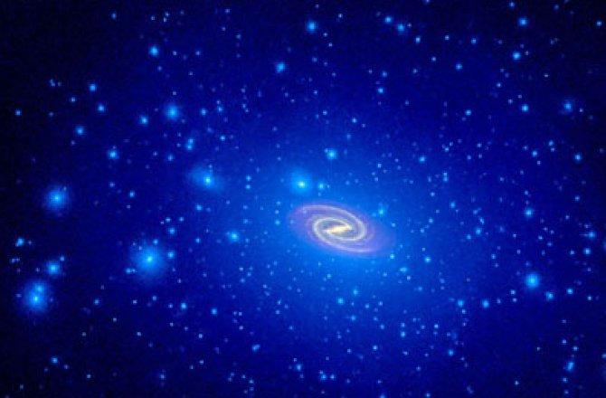 Темная материя может стать причиной земных катаклизмов (2 фото)