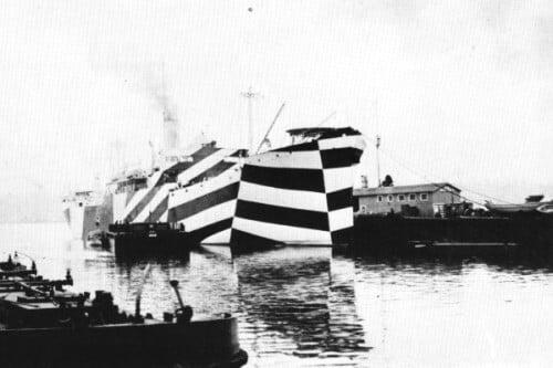 Камуфляж корабля