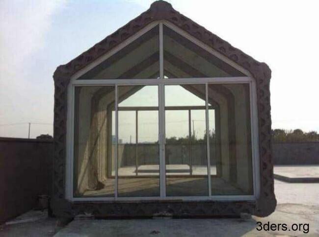 Напечатанный 3D дом