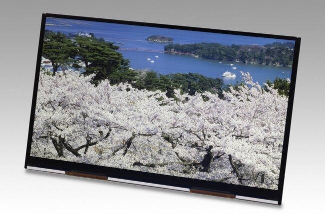 Дисплей Japan Display с диагональю 10 дюймов и разрешением 4К