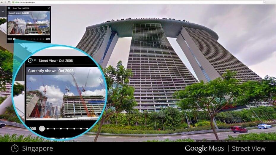 Google Street View теперь умеет путешествовать во времени
