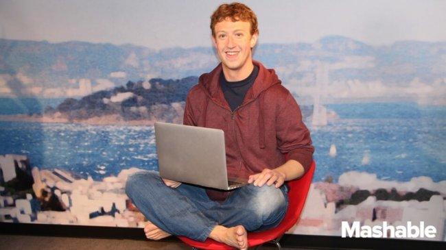 Марк Цукерберг из воска