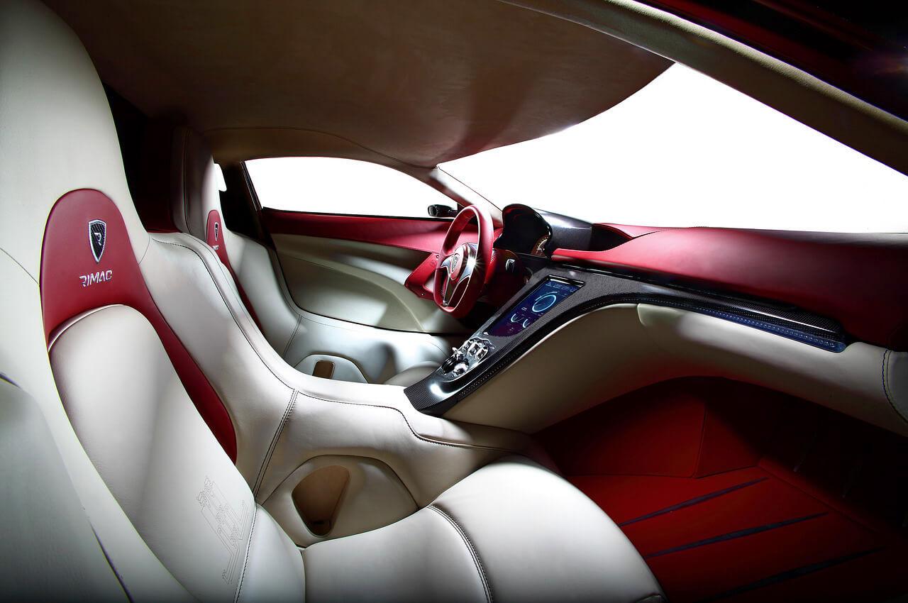 Электромобиль Rimac Automobili Concept One