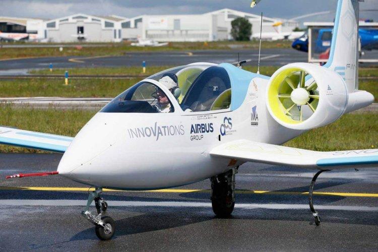 Электросамолет Airbus E-FAN