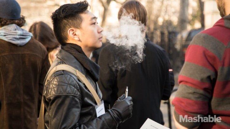 Пар электронных сигарет
