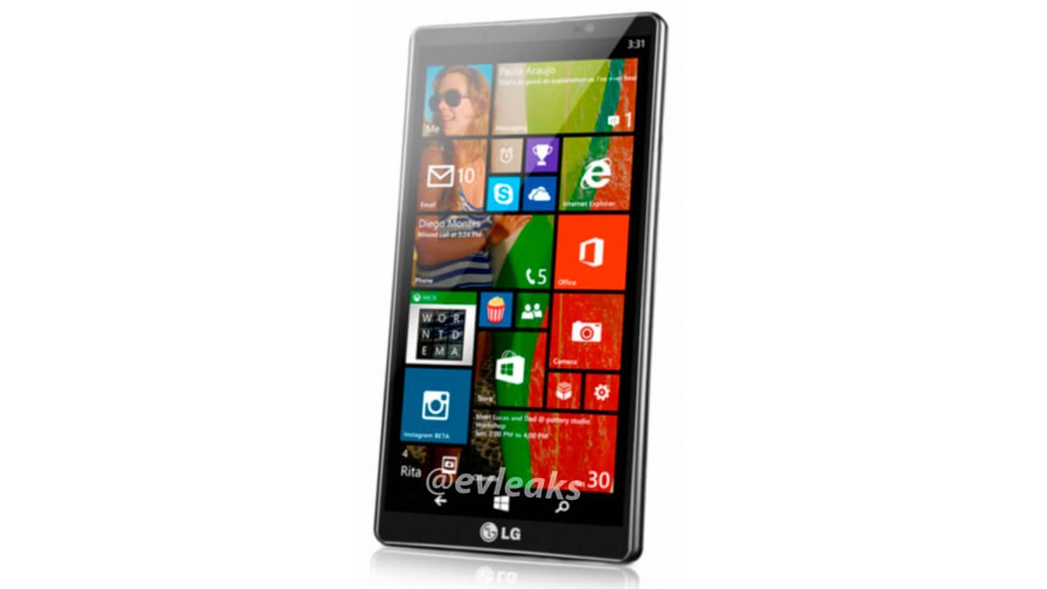 Смартфон LG Uni8 на Windows Phone 8.1