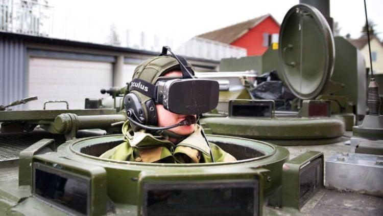 Oculus Rift для танка