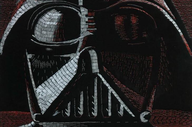 Удивительные картины по мотивам Star Wars