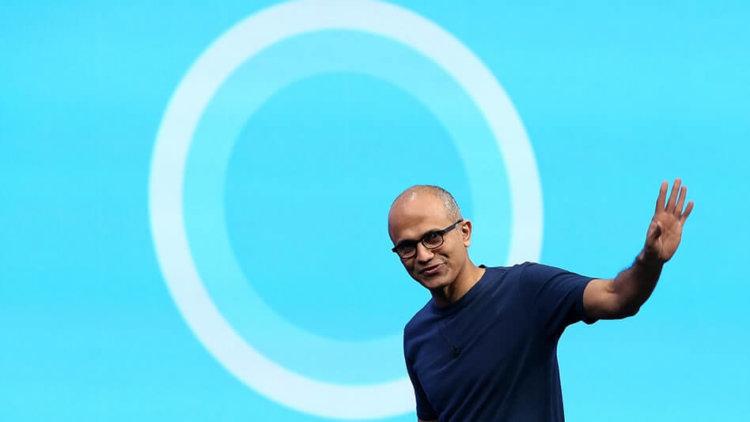 Глава Microsoft Сатья Наделла