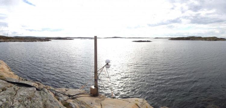 Измерение уровня моря при помощи GPS