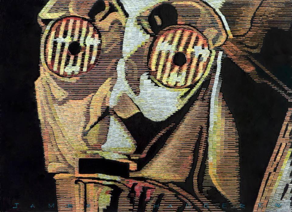 Портрет C3PO
