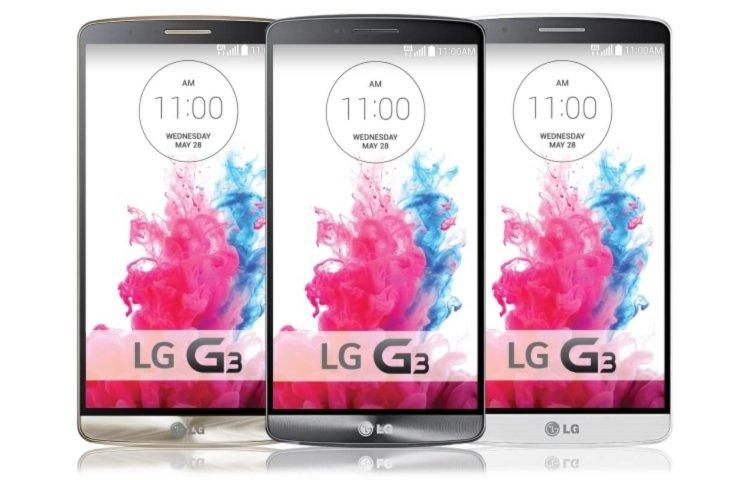 В интернет утекли фотографии и характеристики смартфона LG G3