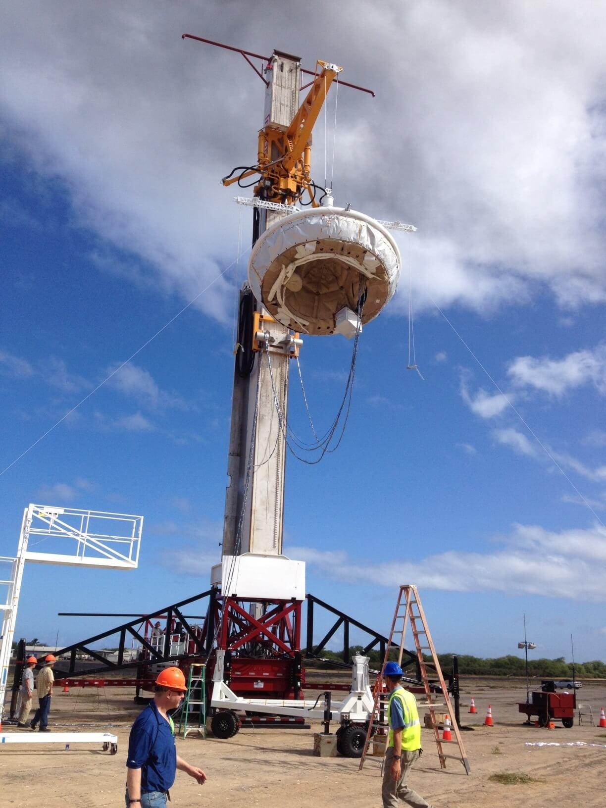 NASA строит «летающую тарелку» для пилотируемых полетов на Марс