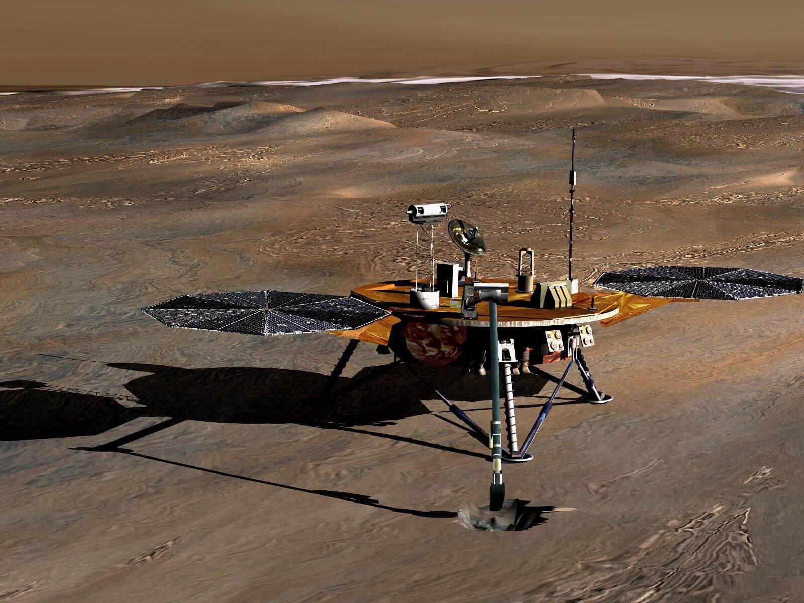 Марс будут  обстреливать ракетами (3 фото)