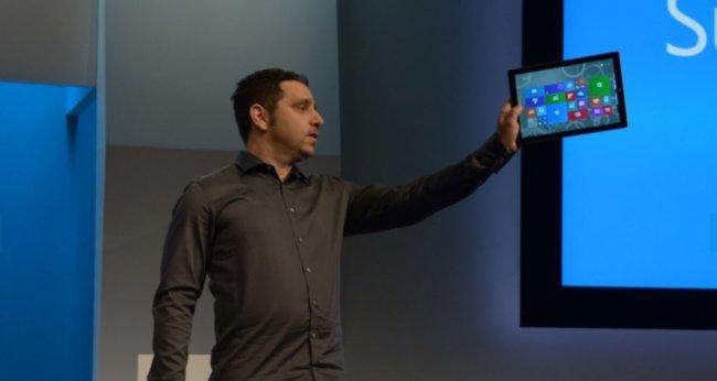 Microsoft представила «убийцу лэптопов» — 12-дюймовый планшет Surface Pro 3