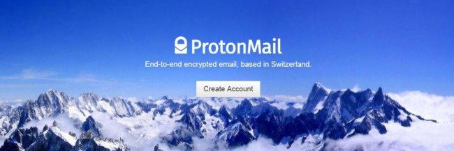 Защищенная почта ProtonMail